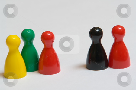 Traffic light coalition vs. A grand coalition stock photo, Ampelkoalition vs. Gro???e Koalition by Wolfgang Heidasch