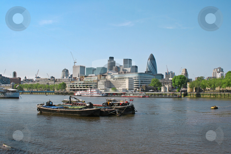 London cityscape stock photo, A photography of the big London city by Markus Gann