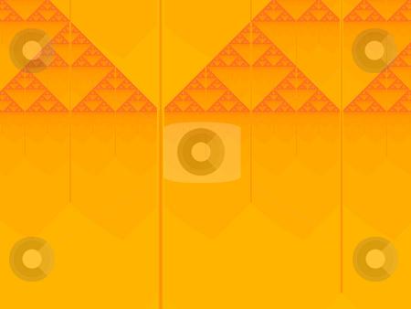 Sierpinski fractal stock photo, An illustration of an abstract fractal graphic. by Markus Gann