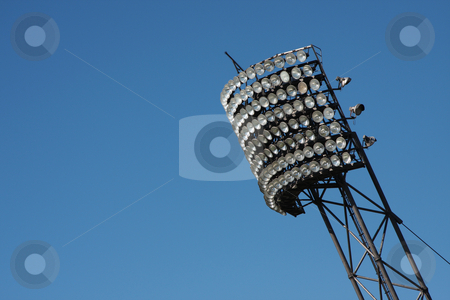 Light panel stock photo, A photography of a light panel at the olympic stadion in munich by Markus Gann
