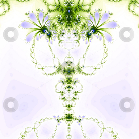 Floral fractal stock photo, An illustration of an abstract fractal graphic. by Markus Gann