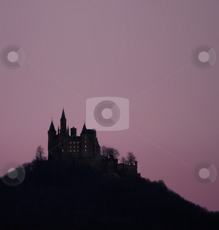 Hohenzollern castle stock photo, A photograph of the castle Hohenzollern in germany by Markus Gann