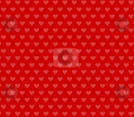 Background wallpaper red with hearts stock photo, An illustration of an artistic background wallpaper by Markus Gann