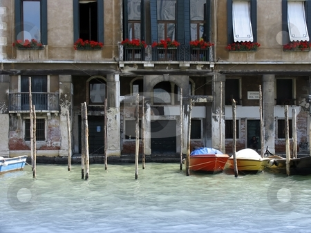 House in venice italy stock photo, A photograph of the beautiful houses in Venice Italy by Markus Gann