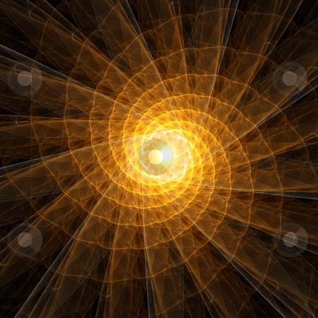 Deep light stock photo, An illustration of an abstract Background Illustration - deep light by Markus Gann