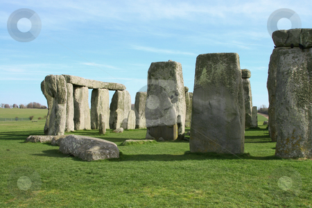 Stonehenge stock photo, A Photograph of a the mystical stonehenge by Markus Gann