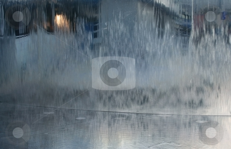 Water wall in brighton stock photo, A photograph of a water wall in brighton by Markus Gann
