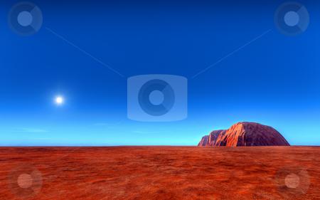 Uluru - Ayers Roch Australia stock photo, An illustration of the Uluru - Ayers Rock Australia by Markus Gann