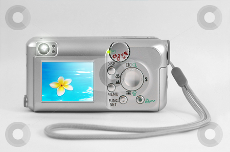 Display stock photo, A photography of a lcd display on a cam by Markus Gann