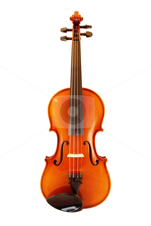 Violine stock photo, A photography of a violine in front of a white background by Markus Gann