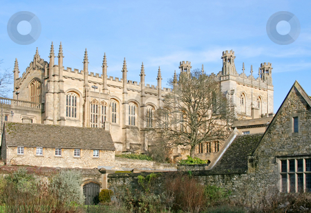 Oxford stock photo, A photograph of a big building scenery in Oxford by Markus Gann