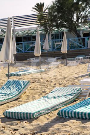 Pampelonne beach near St. Tropez stock photo, Pampelonne beach near St. Tropez in French Riviera by Elena Elisseeva