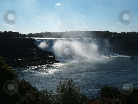 Niagara Falls stock photo, Niagara Falls scene Canadian side by CHERYL LAFOND