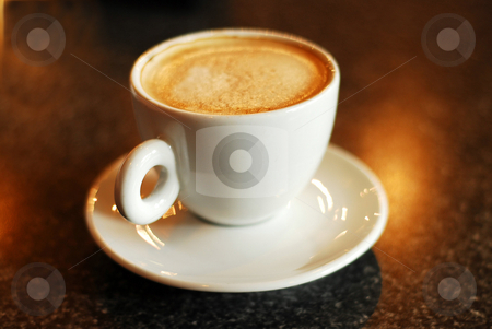 Coffee cup stock photo, Cup of coffee by Elena Elisseeva