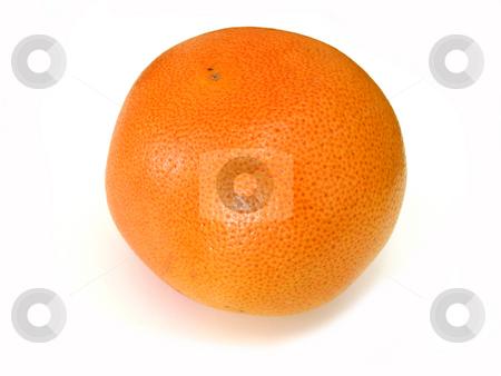 Grapefruit on white stock photo, Whole grapefruit isolated on white background by Elena Elisseeva