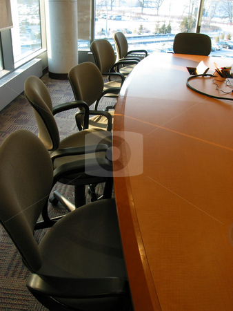 Business meeting room stock photo, Business meeting or conference room by Elena Elisseeva