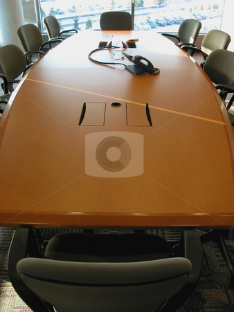 Conference room stock photo, Empty business meeting or conference room by Elena Elisseeva