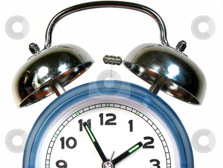 Alarm clock stock photo, Old fashioned alarm clock by Elena Elisseeva