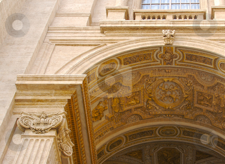 Saint Peter's Basilica stock photo, Saint Peter's Basilica. Vatican City. Basilica di San Pietro in Vaticano by Andy Dean