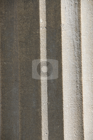 Concrete stock photo, Abstract background of grey concrete column fragment by Elena Elisseeva