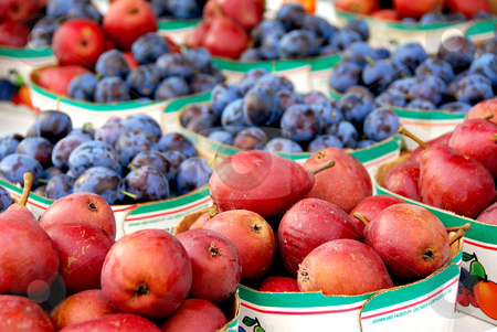 Fruits for sale stock photo, Fruits for sale at farmer's market by Elena Elisseeva