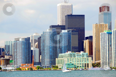 Toronto waterfront stock photo, Beautiful Toronto waterfront by Elena Elisseeva
