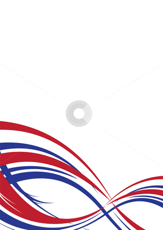 Us abstract port stock photo, Abstract background in red white and blue us colors by Michael Travers