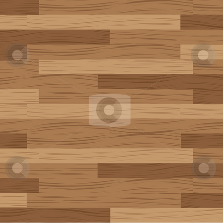 Wood board stock photo, Wooden flooring running in a horizontal direction in brown by Michael Travers
