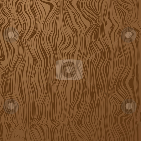 Wood grain illustration stock photo, Wooden grained abstract background with copy space in brown by Michael Travers