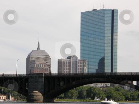 Boston City stock photo, Boston City in USA by Ritu Jethani