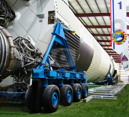 Space Shuttle stock photo, Space Shuttle at Houston Space Center by Kevin Tietz