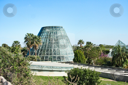 Greenhouse stock photo, The exterior of a greenhouse by Kevin Tietz
