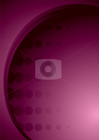 Pink halftone stock photo, Abstract background in magenta and pink with halftone dots by Michael Travers
