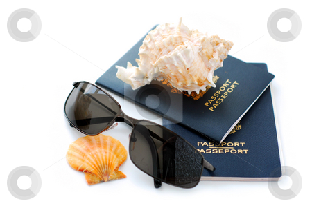 Tropical vacation stock photo, Tropical vacation concept by Elena Elisseeva
