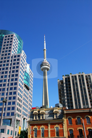 Old and new Toronto stock photo, Toronto old and new by Elena Elisseeva