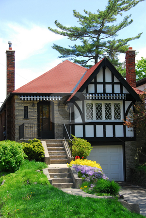 Tudor home stock photo, Charming tudor home by Elena Elisseeva
