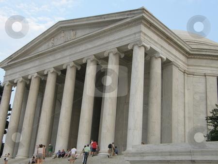 Jefferson Memorial stock photo, Jefferson Memorial in Washington DC by Ritu Jethani