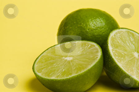 Sliced Limes stock photo,  by Jose Wilson Araujo