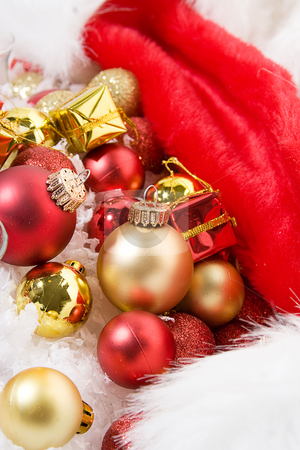 Ornaments at Christmas stock photo, Ornaments and decoration at christmas by Jose Wilson Araujo