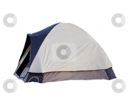 Tent stock photo, A typical camping tent by Michelle Bergkamp