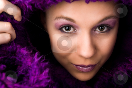 I am about to show myself to you stock photo, Young woman with a hypnotizing look by Frenk and Danielle Kaufmann