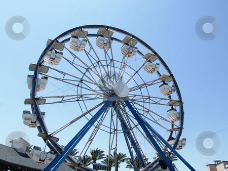 Ferris Wheel stock photo, Ferris Wheel at a carnival by Marburg