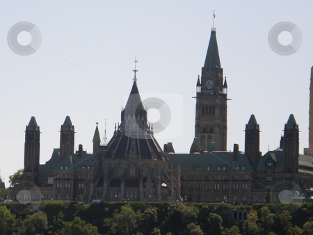 Parliament Hill in Ottawa stock photo, Parliament Hill in Ottawa, Canada by Ritu Jethani