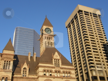 Historic Toronto City Hall in Canada stock photo,  by Ritu Jethani