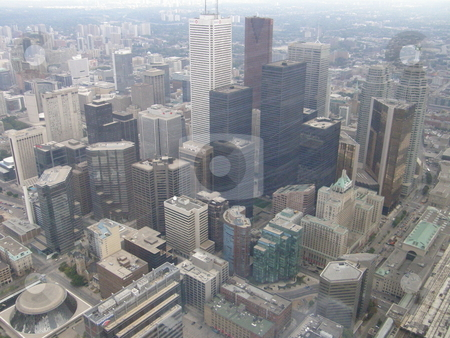 Toronto, Canada stock photo, Aerial View of Toronto, Canada by Ritu Jethani