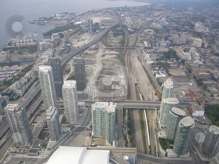 Toronto, Canada stock photo, Aerial View of Toronto, Canada by Ritu Jethani