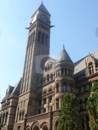 Historic Toronto City Hall in Canada stock photo,  by Ritu Jethani