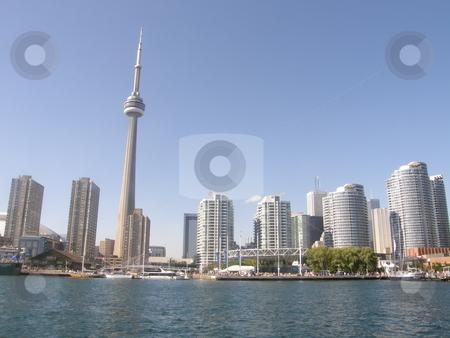 CN Tower  stock photo, CN Tower by Ritu Jethani