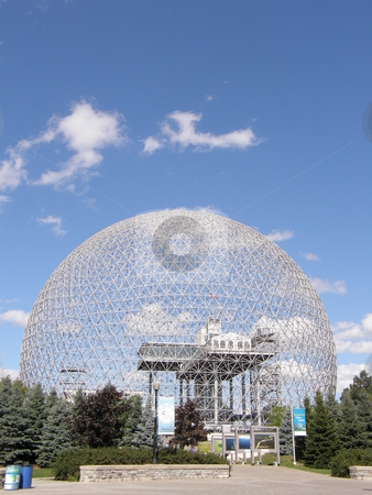 Biosphere in Montreal stock photo, Biosphere in Montreal, Canada by Ritu Jethani