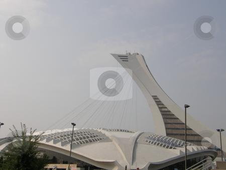 Olympic Stadium in Montreal stock photo, Olympic Stadium in Montreal (Quebec), Canada by Ritu Jethani